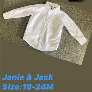 Boy's Janie & Jack shirt